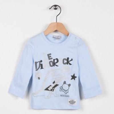 Tee-shirt manches longues Bleu ciel