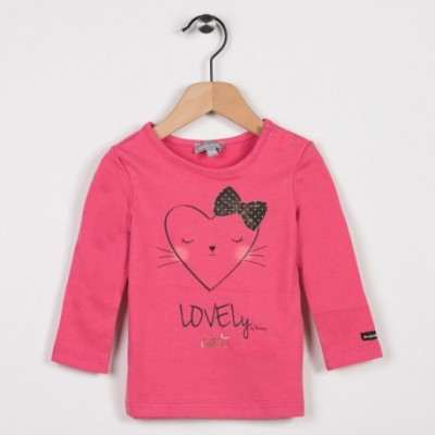 Tee-shirt manches longues Rose moyen