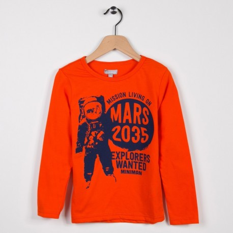 Tee-shirt manches longues Orange