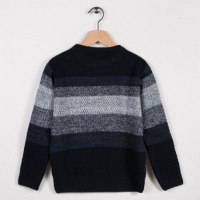 Pull point fantaisie Marine
