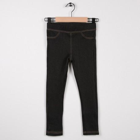 Tregging jean jersey Noir