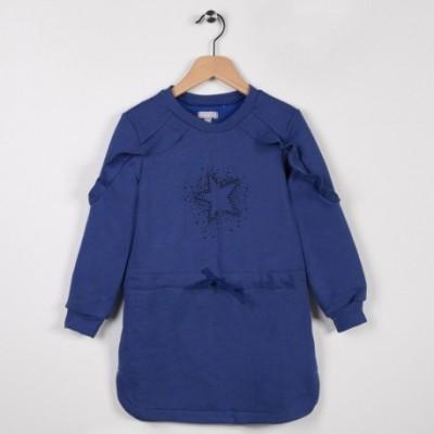 Robe en molleton Bleu