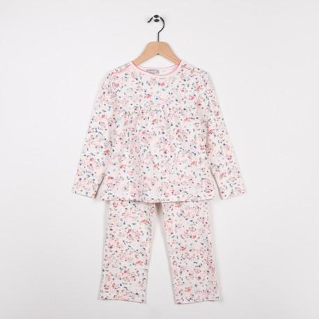 Pyjama en jersey imprimé Paille
