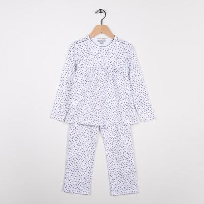 Pyjama en jersey imprimé Blanc