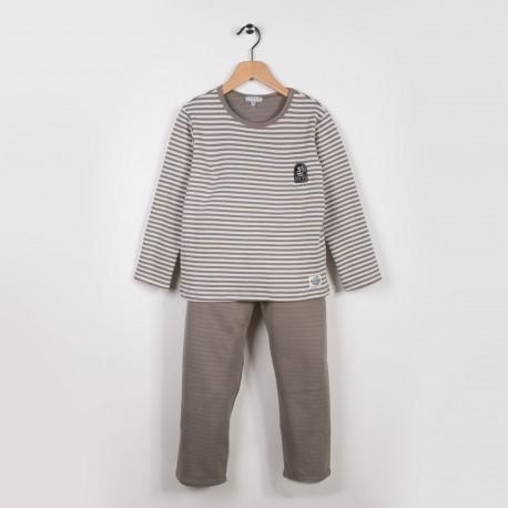 Pyjama 2 pièces Ecru