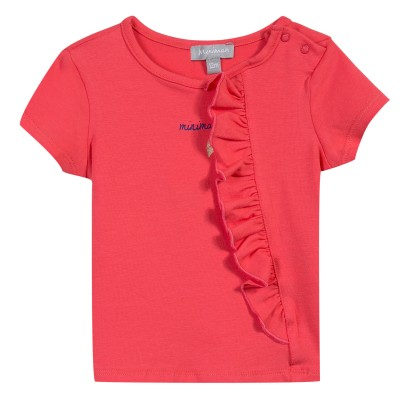 TEE SHIRT FILLE Rouge