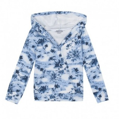 SWEAT FILLE Marine