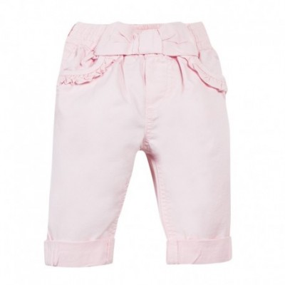 PANTALON FILLE Rose pale