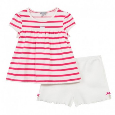 PYJAMA 2 PIECES FILLE Fuchsia
