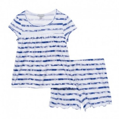 PYJAMA 2 PIECES FILLE Indigo