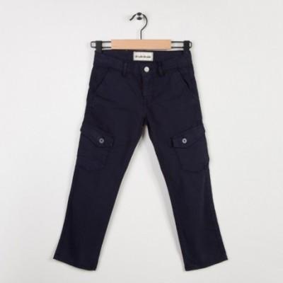 Pantalon marine coupe chino