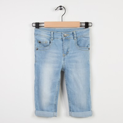 Jean skinny longueur corsaire