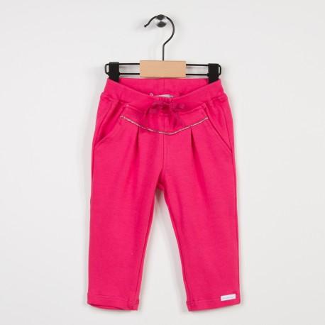 Pantalon molleton taille élastiquée