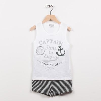 Pyjashort esprit marin