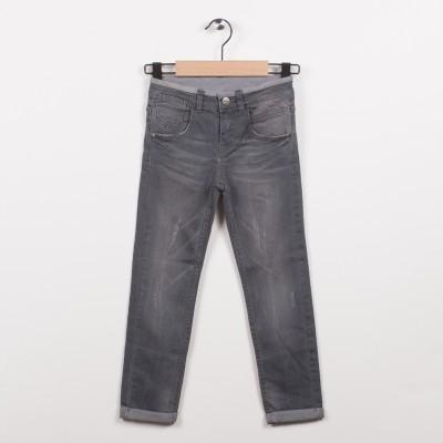 Jean slim gris 5 poches