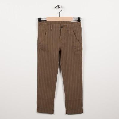 Pantalon avec revers