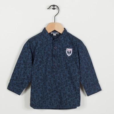 Nouvelle forme chemise - Marine