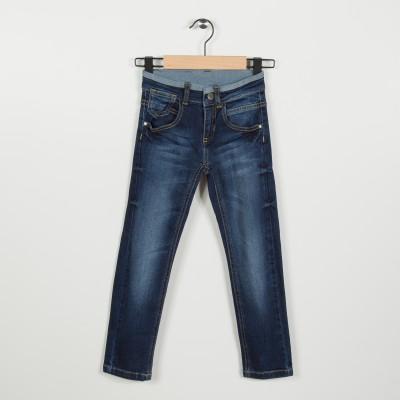 Jean slim 5 poches - Indigo