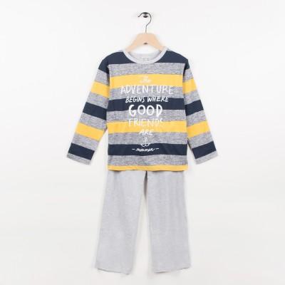 Pyjama 2 pièces  - Marine