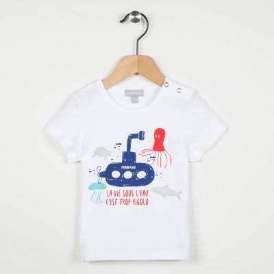 Tee-shirt motif sous marin