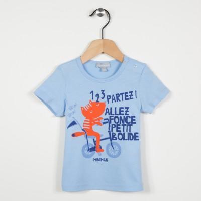 Tee-shirt avec motif illustré