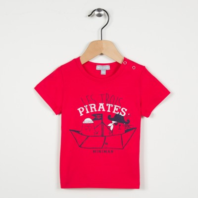 Tee-shirt motif pirates
