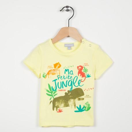 Tee-shirt motif illustré
