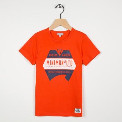 Tee-shirt garçon avec motif imprimé