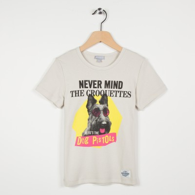 Tee-shirt manches courtes motif imprimé
