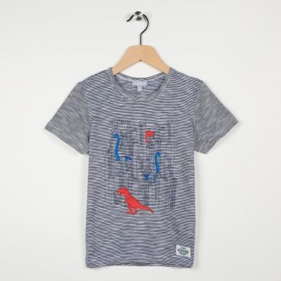 Tee-shirt garçon motif illustré