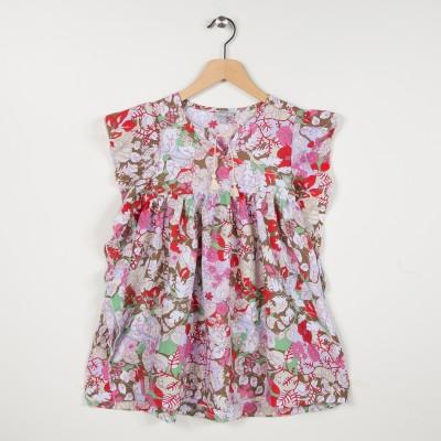 Robe imprimée à fleurs