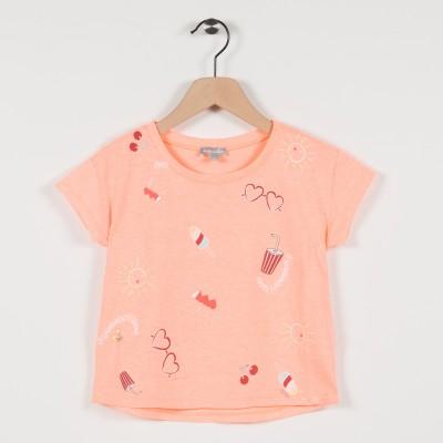 Tee-shirt avec motifs fantaisies