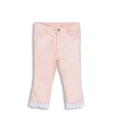 Pantalon skinny rose