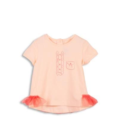 Tee-shirt avec volants en tulle
