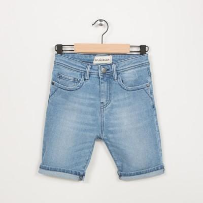 Bermuda garçon en jean