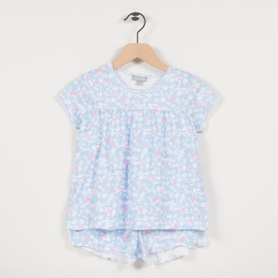 Pyjama en maille imprimée