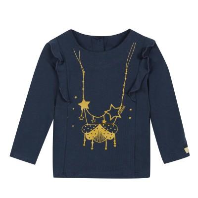 Tee-shirt avec motif collier