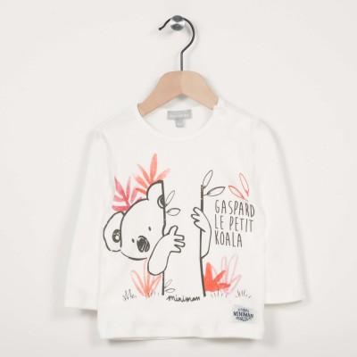 T-shirt manches longues avec motif koala