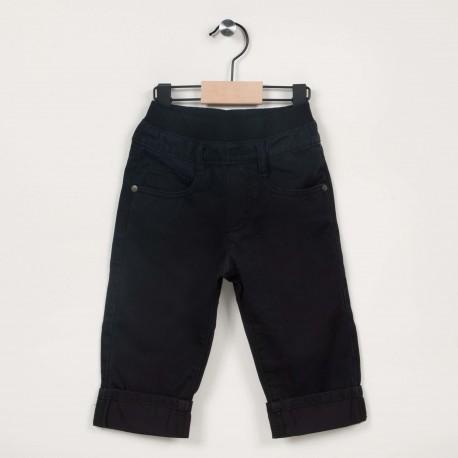 Pantalon avec taille élastiquée