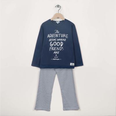 Pyjama 2 pièces motif imprimé