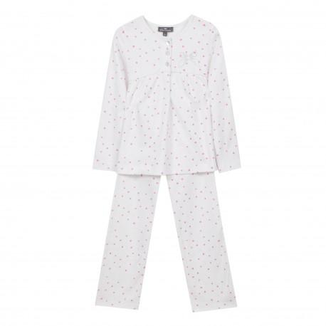 Pyjama 2 pièces en maille imprimée