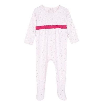 Pyjama à pieds coton bio