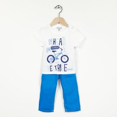 Ensemble 2 pièces t-shirt et pantalon