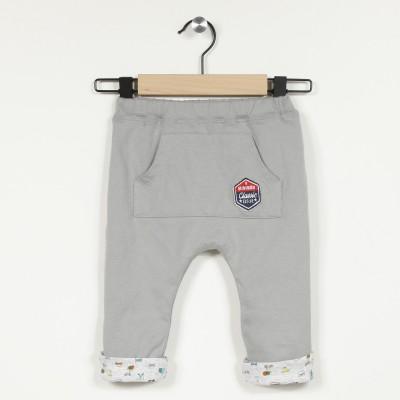 Pantalon doublé en maille