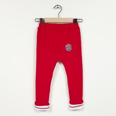 Pantalon en maille doublée