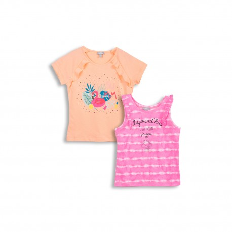 Lot de 2 t-shirts imprimés