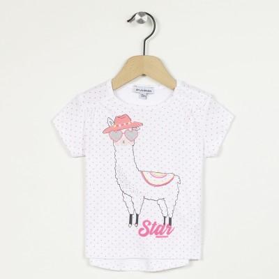 T-shirt manches courtes motif lama