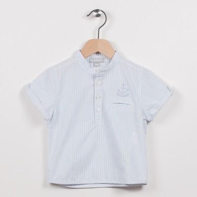 Nouvelle forme chemise avec motif brodé