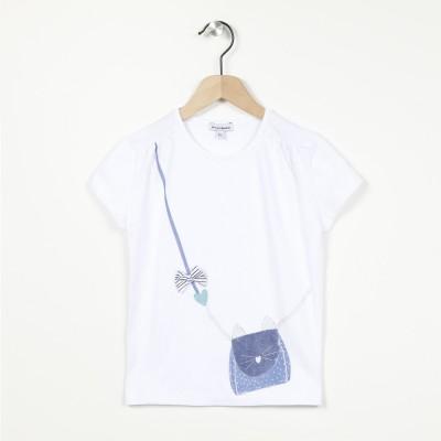 T-shirt manches courtes avec motif