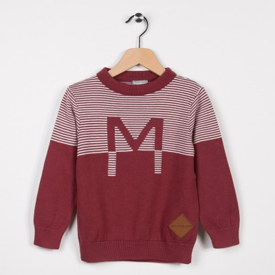 Pull col rond en fine maille